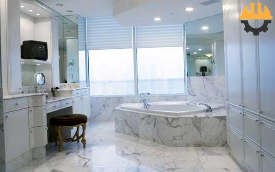 mermer-banyo
